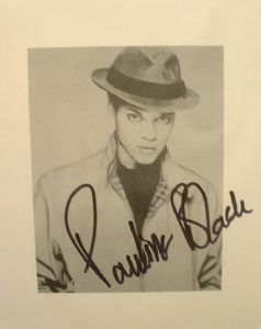 A077 - PAULINE BLACK Autographed top 10 x 8 photo